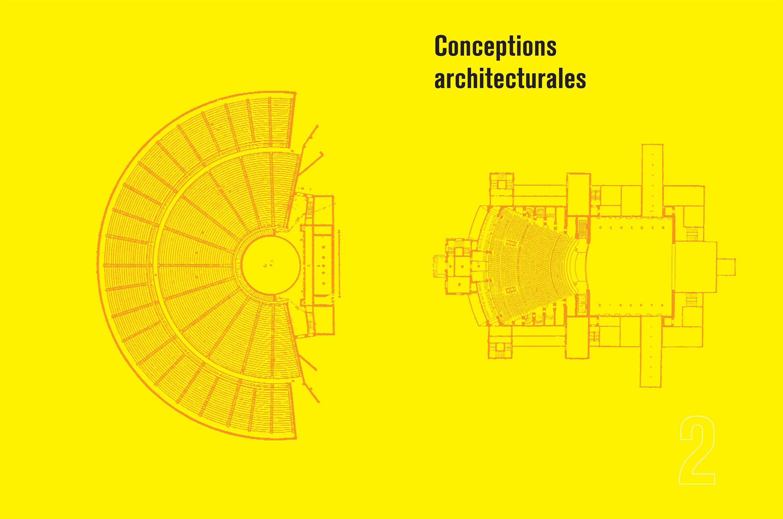 Monographie Fabre et Perrottet Architectes de théâtre Pages 12-13 Éditions Norma