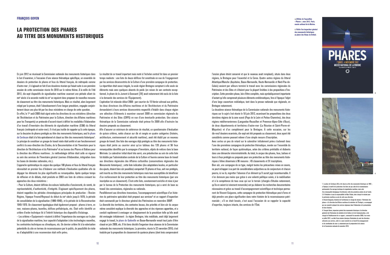 Beau livre Phares Monuments historiques des côtes de France Pages 10-11 Éditions du Patrimoine, centre des monuments nationaux