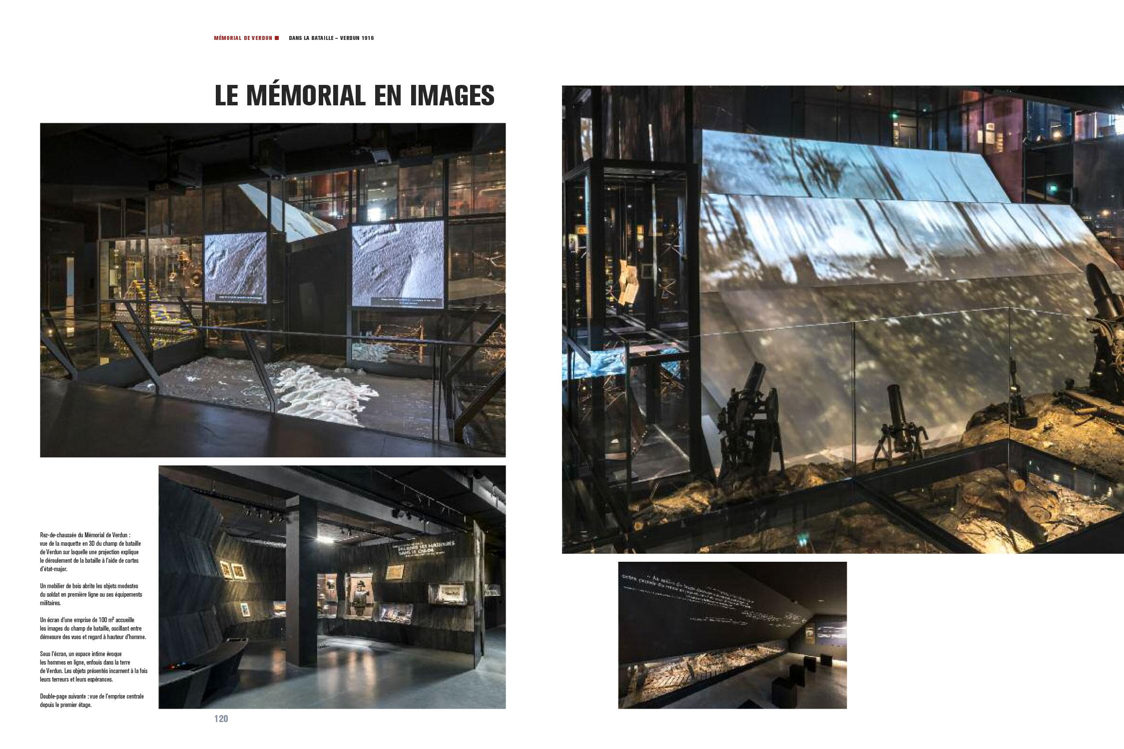 Catalogue d'exposition Dans la bataille de Verdun, 1916 (Pages 120-121) Les nouvelles éditions Jean-Michel Place