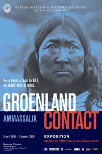 Ammassalik Groenland Contact Affiche de l'exposition Musée de la Marine, Paris 2005