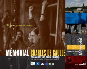 Mémorial Charles de Gaulle 2008 Affiches pour l'ouverture du Mémorial