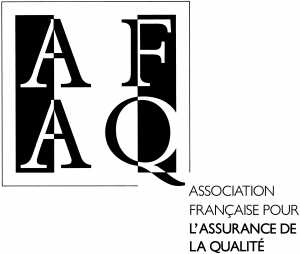 Logo AFAQ Association nationale de certification de normes internationales 1988