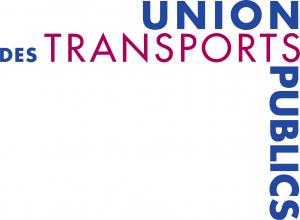 Union des transports publics et ferroviaires Syndicat professionnel des entreprises de transports publics, Paris 1995 Création du logotype et des supports d'édition : cartes de visite, de correspondance, papier à entête, documents techniques, annuaires, rapport d'activités, carte de vœux, etc.