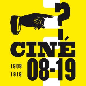 Ciné08-19, 2018 : logo et papier à entête