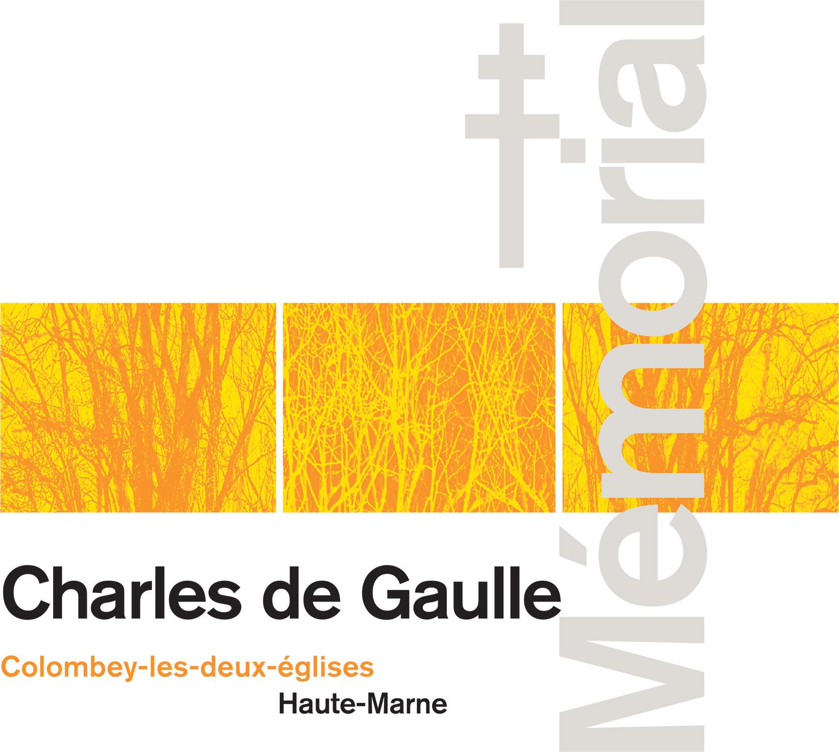 Memorial Charles De Gaulle 2008 Creation Du Logotype La Charte Graphique Signaletique Et Des Supports Communication Cartes Visite